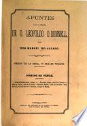Apuntes para la historia de D. Leopoldo O-Donnell, por Manuel Ibo Alfaro