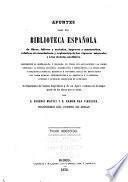 Apuntes para una biblioteca española de libros, folletos y artículos, impresos y manuscritos, relativos al conocimiento y explotación de las riquezas minerales y á las ciencias auxiliares
