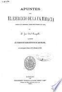 Apuntes sobre el ejercicio de la farmacia leídos al Colegio de Farmacéuticos de Barcelona, en la sesion general ordinaria de 20 de Diciembre de 1860