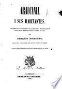 Araucania i sus habitantes