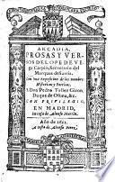 Arcadia, Prosas Y Versos, Con una exposicion de los nombres Historicos y Poeticos
