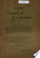 Archivo de ciencias de la educación ...