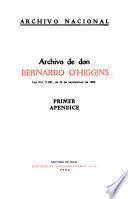 Archivo de don Bernardo O'Higgins