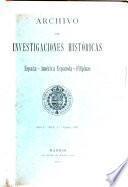 Archivo de investigaciones históricas