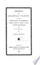 Archivo del bibliófilo filipino