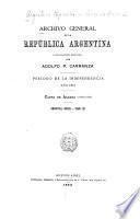 Archivo general de la República Argentina