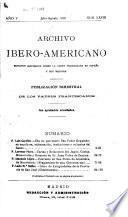 Archivo ibero-americano