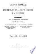 Archivos españoles de enfermedades del aparto digestivo y de la nutrición