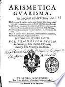 Arismetica [sic] guarisma