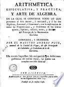 Arithmetica especulativa y practica y arte de algebra