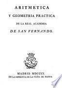 Aritmética y geometría práctica de la Real Academia de San Fernando