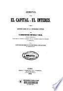 Armonía entre el capital y el interes
