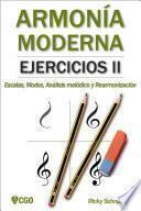 ARMONIA MODERNA EJECICIOS II