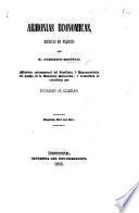 Armonias Economicas ... traducidas al castellano por R. M. Lleras