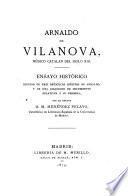 Arnaldo de Vilanova, médico catalan del siglo XIII