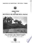 Arquivos de botanica do Estado de Saõ Paulo
