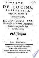 Arte de Cozina, Pasteleria, Vizcocheria, y Conserveria. MS. note by R. Ford