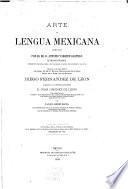 Arte de lengua mexicana