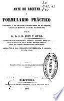 Arte de recetar y formulario práctico