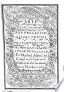 Arte nuevo de escribir por preceptos geometricos, y reglas mathematicas