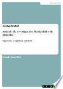 Artículo de investigación: Manipulador de plantillas