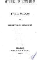 Articulos de costumbres y poesías
