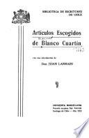Artículos escogidos de Blanco Cuartín