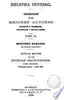 Artículos escogidos de las Escenas matritenses