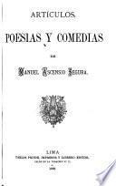 Artículos, poesias y comedias