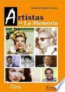 Artistas en la memoria