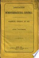 Asamblea general de 1872