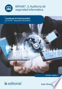 Auditoría de seguridad informática. IFCT0109