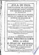 Aula de Dios cartuxa real de Zaragoza