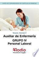 Auxiliar de Enfermería. GRUPO IV. Personal Laboral. Temario. Volumen 2