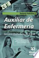 Auxiliar de Enfermería. Servicio Extremeño de Salud. Temario Volumen 2