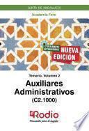 Auxiliares Administrativos (C2.1000). Junta de Andalucía