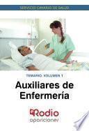 Auxiliares de Enfermería. Temario. Volumen 1. Servicio Canario de Salud.