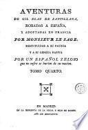 Aventuras de Gil Blas de Santillana, 4