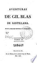 Aventuras de Gil Blas de Santillana