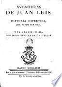 Aventuras de Juan Luis