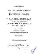 Averiguaciones de las antigüedades de Cantabria