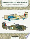 Aviones de Estados Unidos libro para colorear para adultos 2