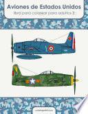 Aviones de Estados Unidos libro para colorear para adultos 3