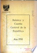 Balance y cuenta general de la república por el año de ...