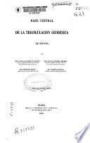 Base central de la triangulación geodésica de España