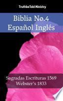 Biblia No.4 Español Inglés