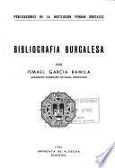 Bibliografía burgalesa