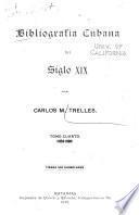 Bibliografía cubana del siglo XIX: 1856-1868