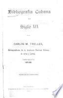 Bibliografía cubana del siglo XIX: 1879-1885