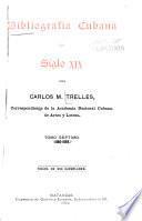 Bibliografía cubana del siglo XIX: 1886-1893